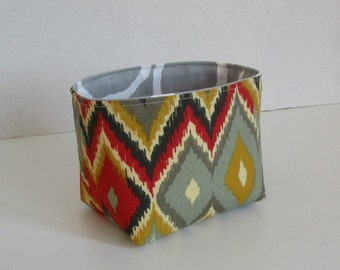 Mini Bucket - fabric storage bin