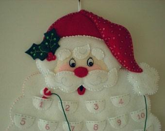 Bucilla Santa Advent Calendar
