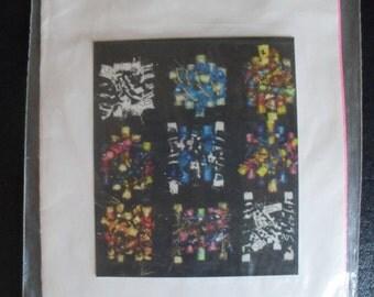 Fabric Bead Pins Instructions