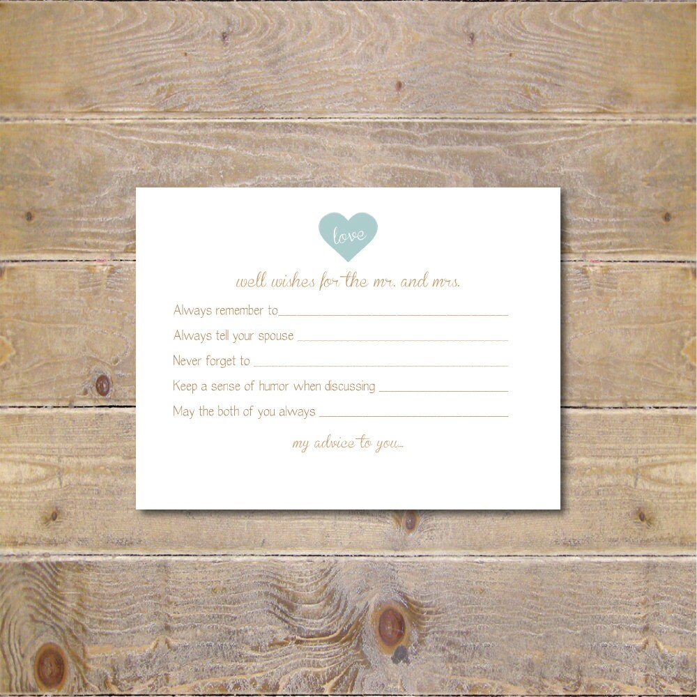 printable advice cards bridal shower advice cards bridal