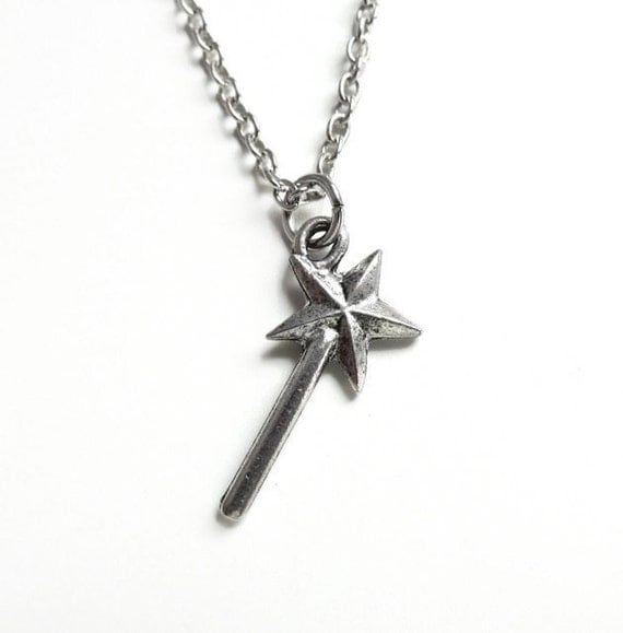 Magic Wand Necklace - Fairy Godmother