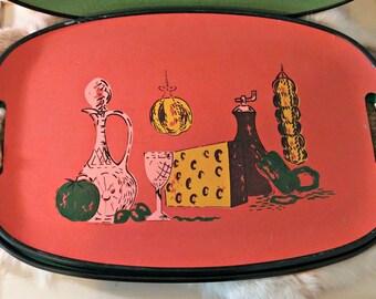 Vintage 1960's Serving Trays | Set of Four