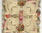 """Vintage/Antique """"1909""""  Valentines day card.* Free Shipping!"""