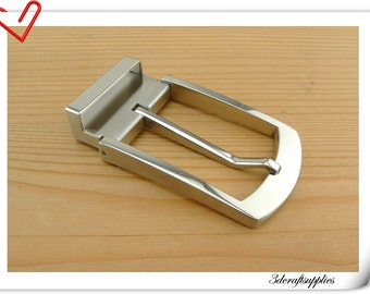 Stainless steel Belt buckle Men and Women For 1 1/4 inch ( 33 mm ) strap  AT5