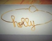 Name bracelet,Valentine gift, Personalized, Bridesmaid,wedding party, sister gift