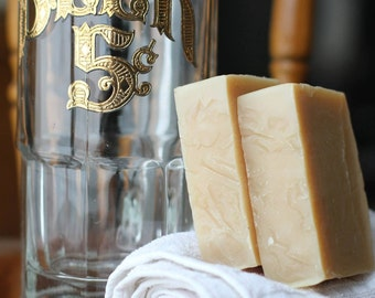 Beer Soap - Craft Beer Soap - All Natural Vegan Soap - Craft Beer Gifts - Beer Lover Gift - Beer Gift - Unique Gift for Dad - Straub Beer