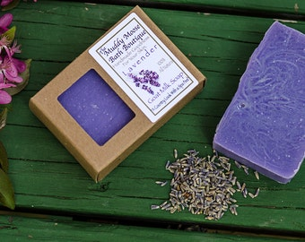 Lavender Soap - Goat Milk Soap - Artisan Soap - All Natural Soap - Lavender Bath - Unique Thank You Gifts - Lavender Gifts - Lavender Scent