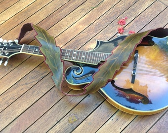 Leaf Mandolin/Guitar Strap
