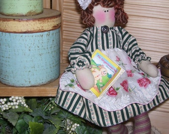 Angel Doll: Handmade Daisy and Her Gingerbread Book