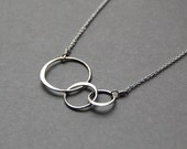 Orbit Necklace in Sterling Silver