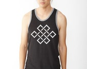 The Endless Knot symbolizes the connectedness of all beings
