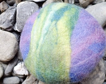 Coconut Felted Soap Made Using Compassionate Wool - FREE SHIPPING