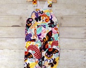 SUPER SALE - Overall in Big Bold Butterflies