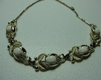 "Vintage coro necklace  16"" in length."