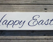 Happy Easter Wood Sign ON SALE