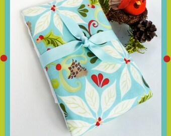 Holiday Baby Burp Cloth - Classy Christmas Burp Cloth for Burping Baby - Full Size Diaper Burp
