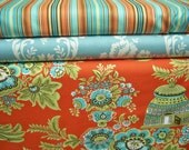 YARD Bundle - 5% OFF! Amy Butler, Royal Garden, Designer Cotton Quilt Fabric, Floral Fabric, Damask Fabric, Quilting Fabric