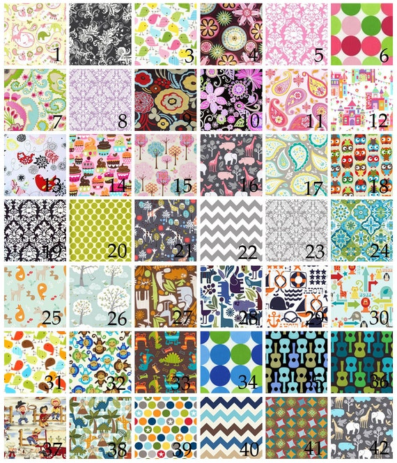 Personalized Baby Blanket - DESIGN YOUR OWN - Cotton and Minky Blanket - Many Size Options