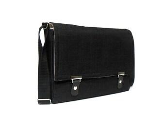 """13"""" / 15"""" / 17"""" MacBook Pro messenger bag - black"""