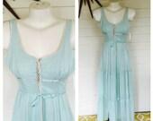 Vintage 70s deadstock Candi Jones maxi dress