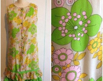 Vintage 1960's Handmade Dress size 9