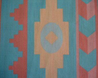 RARE SOUTHWEST FABRIC  Southwest Original Santa Fe Designs 1 Yard  - #M10