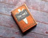 Miniature Book --- The Spirit World Unmasked