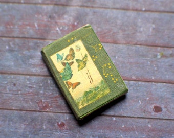 Miniature Book --- Antique Butterflies
