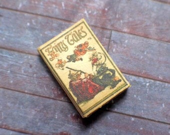Miniature Book --- Victorian Fairy Tales