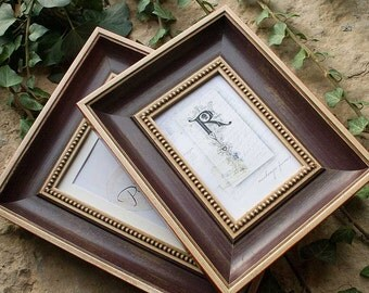 4x6 inch Aubergine Antique Style Photo Frame Ideal for Office Desktop/Wedding/Family/Grand Children Photo Frame Standard Size 4x6 inch