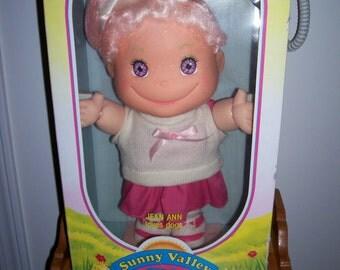 1988 SUNNY VALLEY KIDS doll Jean Ann Loves Dogs