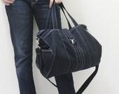 New Year SALE - 20% OFF Diamond in Black / Messenger / Diapers bag / Tote / Hobo / Shoulder Bag / Purses / Handbags / Women / For her
