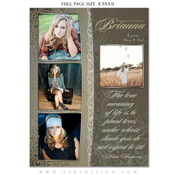 Unavailable listing on etsy for Free yearbook ad templates