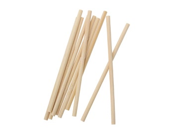 Lollipop sticks - Natural wood round sticks 5 inches