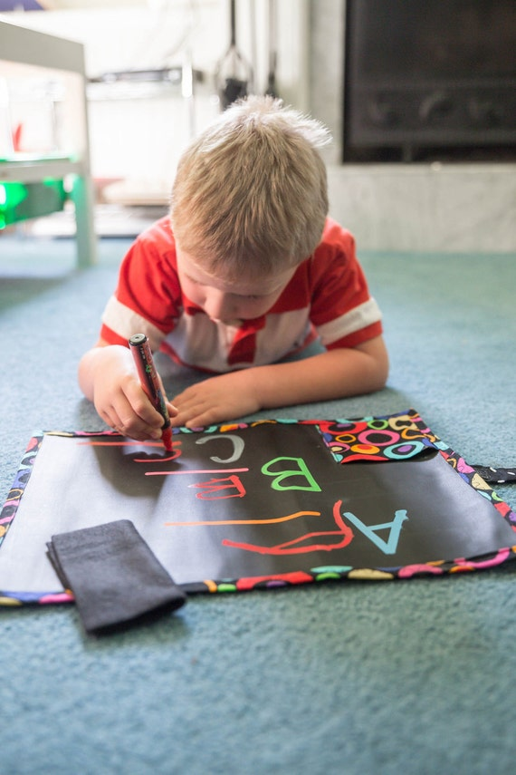 Chalkboard Mat - Hot Wheels- Ready to ship