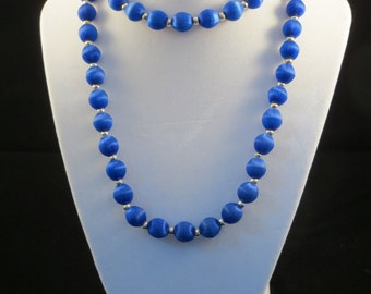 The Blue Threaded Beauty Necklace