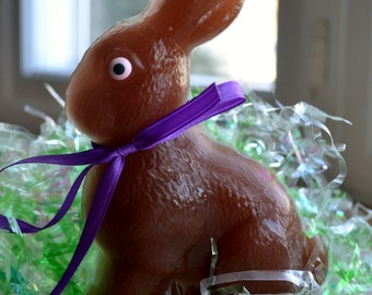 Chocolate Bunny Soap - Barney the Chocolate Easter Bunny