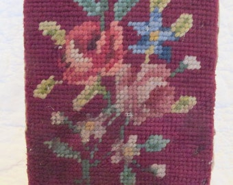 Antique Needlepoint Doorstop Sale
