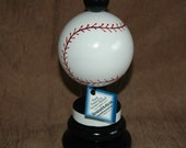 Baseball Trophy ~ Solid Wood ~ Hand Painted ~ Personalized