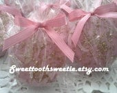 Pink and Gold Chocolate Covered Oreos Cookies Pink and Gold Baby Shower Pink and Gold Wedding Favors Pink and Gold Princess Party Favors