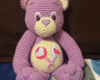 Share bear amigurumi doll