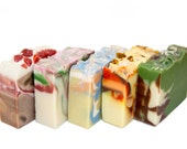6 Vegan Soaps - Handmade - Organic - Get Discount and FLAT Rate Shipping - gift boxed