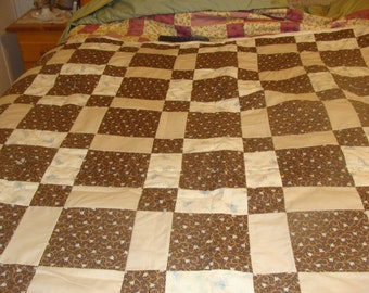 Shades of Brown Quilt