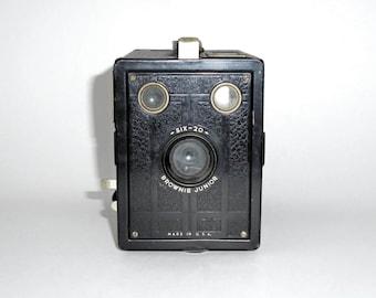 Old Vintage Box  Brownie Junior Camera- Sale...Was 18.00