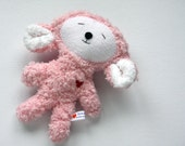 Pink Easter Lamb - Stuffie - Stuffed Animal - Super Soft Plushie