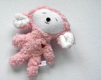 Pink Easter Lamb - Stuffie - Stuffed Animal - Super Soft Plushie