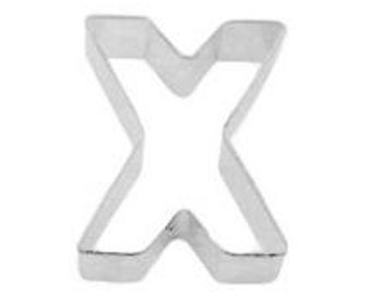 Letter X Cookie Cutter- Kiss