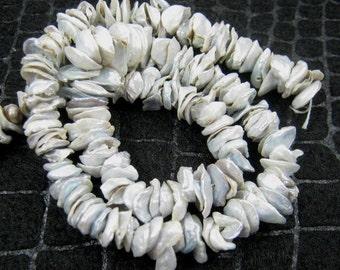 35% OFF Natural Keshi freshwater pearl- 6-10mm- 7.5 inch