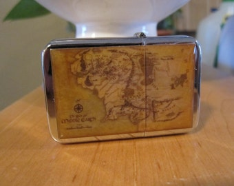 Map Of Middle Earth Refillable Lighter