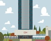 Edmonton - CN Tower | A Unique Take on Alberta's Capital City Landmarks and Surrounding Area